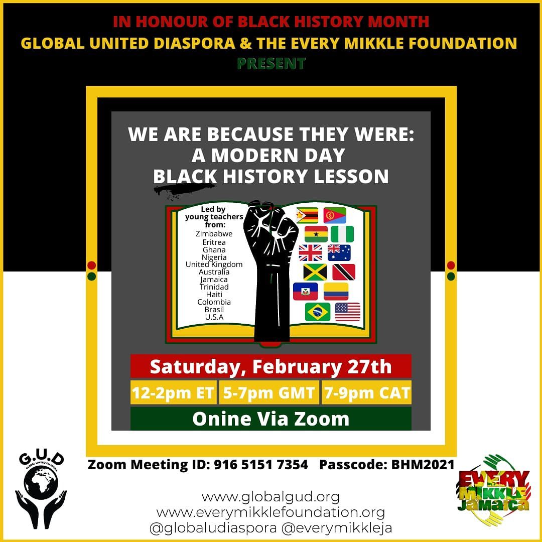 We Are Because They Were: A Modern Day Black History Lesson